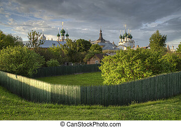 Rostov the Great, Russia. Town of Golden Ring. - Rostov the...