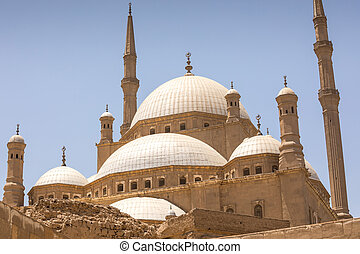 The Great Mosque of Muhammad Ali Pasha in the Citadel of...