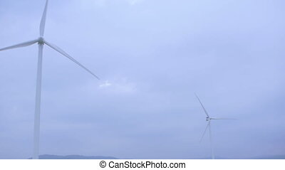 Wind Turbine, Windmill, Energy Production in mountains