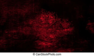 Horror grunge red and darkness looping animated CG backdrop...