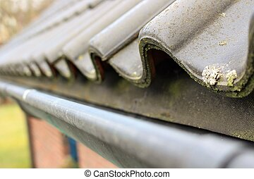 An image of a Roof trench
