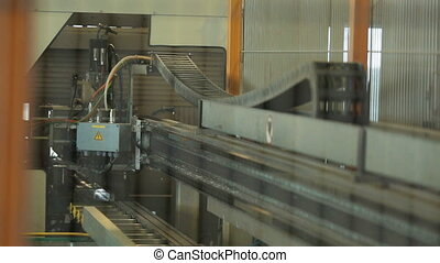 production of Windows and glazing - Conveyor belt for a...