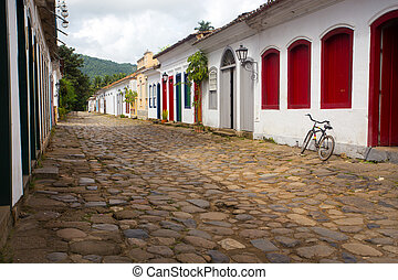historical center of Paraty - historical center of wellknown...