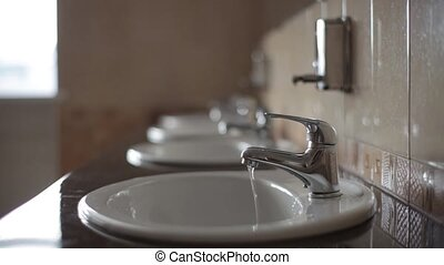 Waste and unreasonable use of water - Water flows from the...