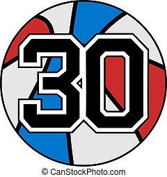 30 basket - Creative design of 30 basket