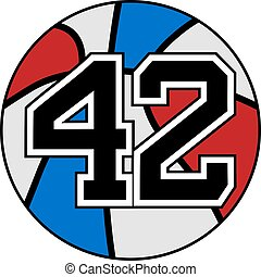 42 basket - Creative design of 42 basket