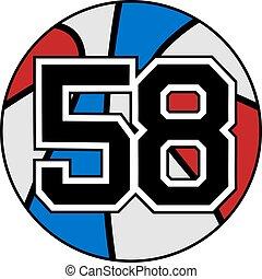 58 basket - Creative design of 58 basket