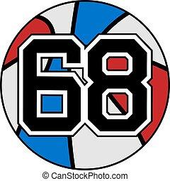68 basket - Creative design of 68 basket