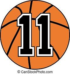 eleven basket symbol - Creative design of eleven basket...