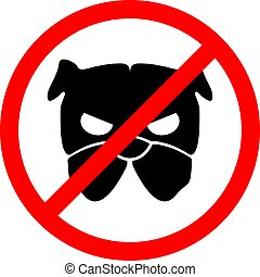 no danger dogs dogs zone sign
