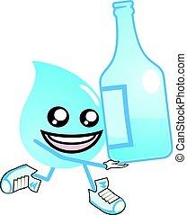 water drop - creative design of water drop