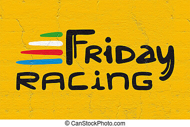 imaginative Friday racing symbol - design of imaginative...