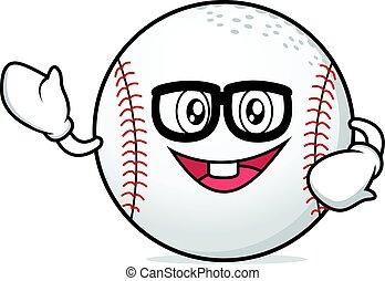 Geek baseball cartoon character collection