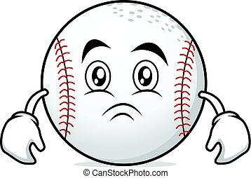 Moody face baseball character collection