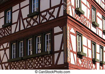 Lohr am Main in the Spessart in Germany