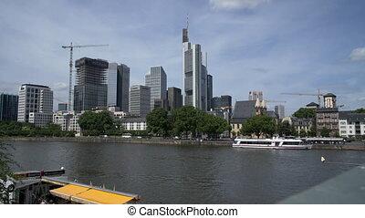 Frankfurt am main, June 2017 in good weather.