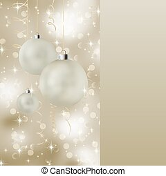 Soft light christmas card - Soft light christmas background...