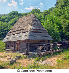 Watermill from Pirogovo, Kyiv, Ukraine - Watermill from the...