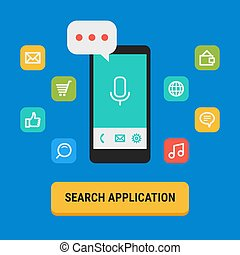 Concept Search for App Icons Mobile Phone