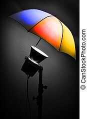 Photography Studio Stobe Flash for Light and Picture Taking...