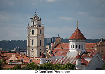 Vilnius churches - Church of St. Johns and Cathedral of the...