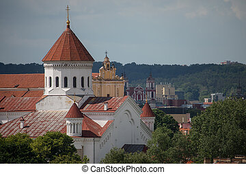 Cathedral of the Dormition of the Theotokos in Vilnius,...