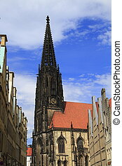 St. Lamberti church Muenster Germany - St. Lamberti church...