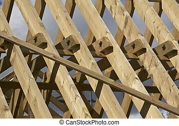 Timber roof support