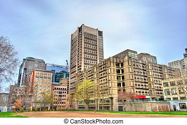 McGill University Faculty of Engineering in Montreal, Canada...