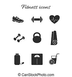 Fitness icons