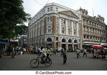 a, ruas, Mumbai, Índia