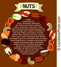 Healthy Organic Food Round Template