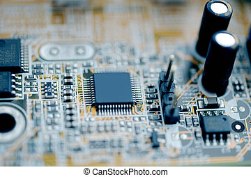 Microcircuit taken as macro