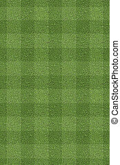 Tileable clean cut grass with stripes