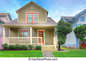 Cute craftsman style house - House in Tacoma for sale