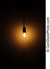 luz, bulbo