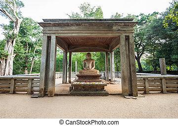 Samadhi Buddha Statue, Anuradhapura - The Samadhi Buddha...