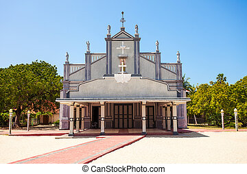 St. Lawrence Church, Talaimannar - St. Lawrence Church in...