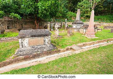 British Garrison Cemetery, Kandy - British Garrison Cemetery...