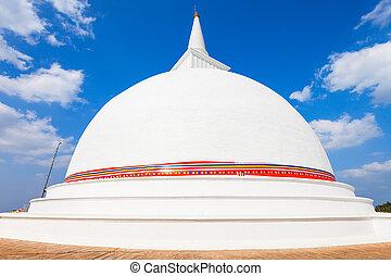 Maha Stupa Temple, Mihintale - Maha Stupa is a large stupa...