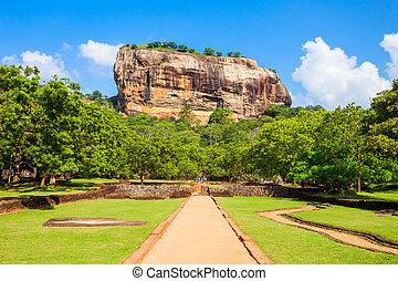 roca,  Sigiriya,  Sri,  Lanka