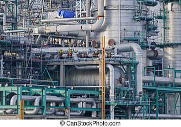 refinería, detalles