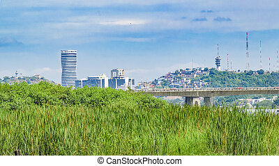 Guayaquil Cityscape - Guayaquil cityscape view from guayas...