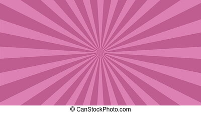 animated background of purple rotating beams.