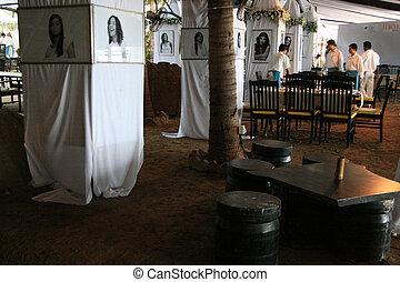 restaurante, barzinhos, -, marinho, conduzir, Mumbai,...