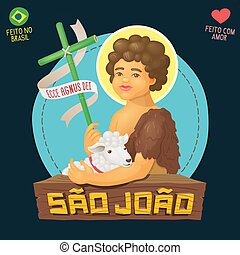 Saint John Baptist, honored in brazilian june parties - Ecce...