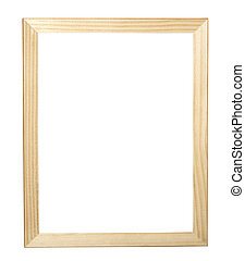 wooden frame new - wooden frame for painting or picture on...