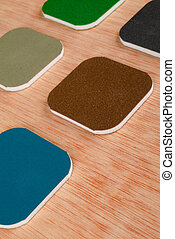 Sand paper - Assortment of different grades of emery paper...