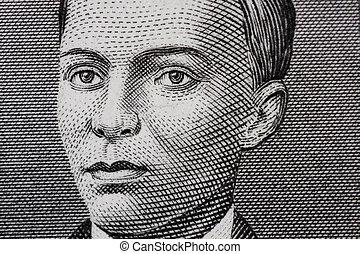 Andres Bonifacio - Macro sketch of Andres Bonifacio,...