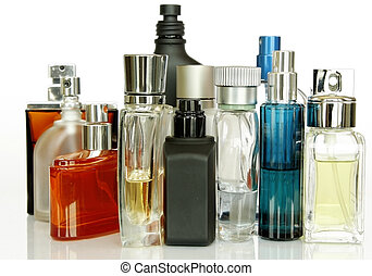 Perfume Bottles - Assorted Perfume Bottles and Fragrances in...